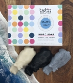 beba BOTANICA Hippo Soaps with box